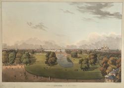 A View of London from the Queen's Palace